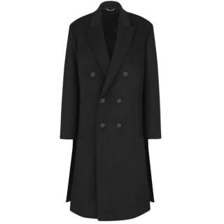 Dior Black Wool Double Breasted Coat