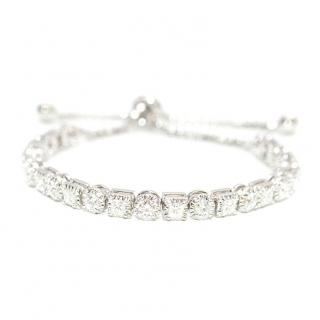 Bespoke 4.80ct Diamond 18ct White Gold Bracelet