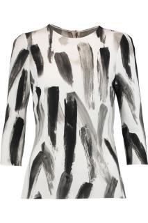 Dolce & Gabbana 'Brushstroke' print Cady top
