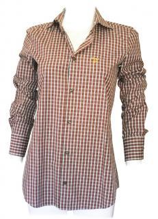 DSquared tartan long sleeved shirt