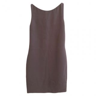 Gucci Taupe Sleeveless Mini Dress