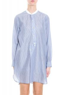 Isabel Marant Ranger striped cotton-blend tunic