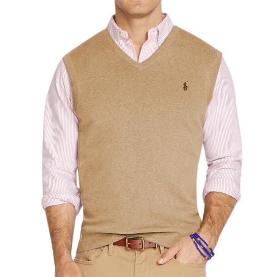 Polo Ralph Lauren Pima Beige Vest