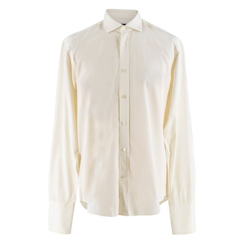Gieves & Hawkes Cream Shirt
