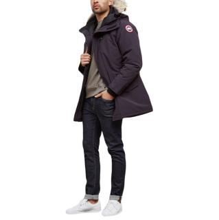 Canada Goose Navy Langford Duck Down Coat
