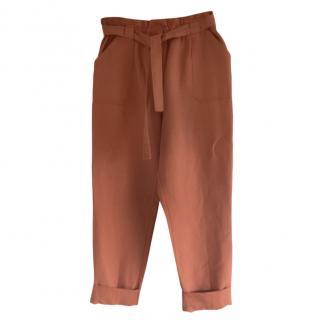 Paul & Joe Paperbag Waist Tapered Pants