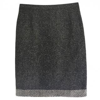 Nicole Farhi Tweed Pencil Skirt