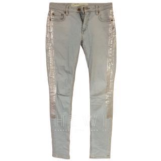 Off White C/O Virgil Abloh Light Wash Jeans