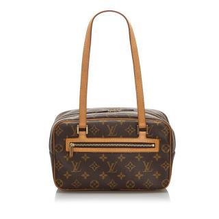 Louis Vuitton Monogram Cite MM 24cm