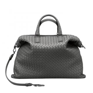 Bottega Veneta Grey Medium Convertible Tote Bag