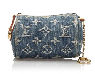 Louis Vuitton Monogram Denim Trousse Speedy PM