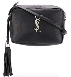 Saint Laurent Black Monogram Camera Bag