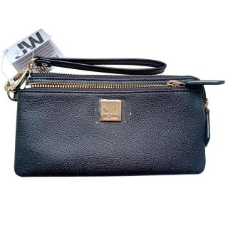 Jason Wu Black Leather Wristlet