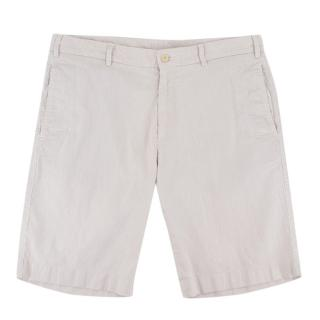 Loro Piana Striped Bermuda Shorts