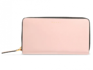 Marni matte-leather continental wallet