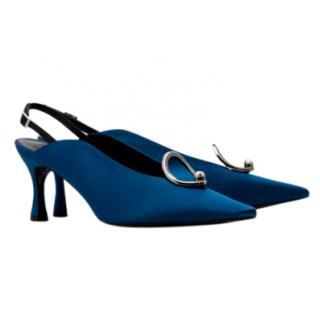 Yuul Yie Lune Blue Slingback Sandals