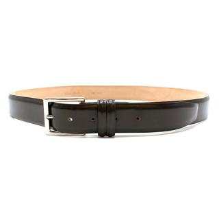 Marcello Brown Leather Classic Belt