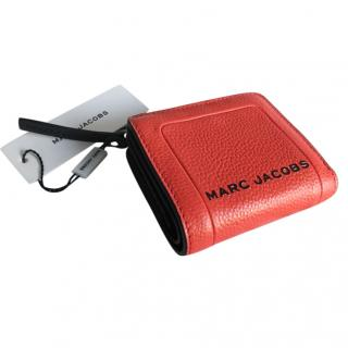 Marc Jacobs Geranium Leather Wallet