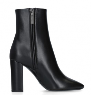 Saint Laurent Leather Loulou Ankle Boots