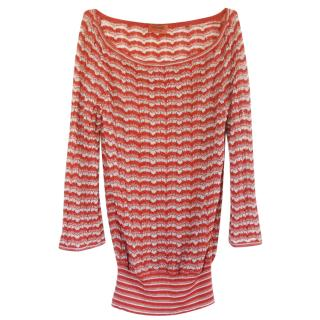 Missoni Zig Zag Knit Jumper Dress