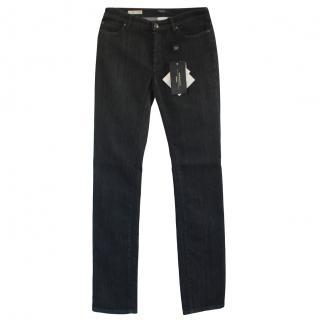 Max Mara Dark Straight Leg Jeans