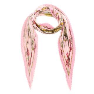 Hermes Les Petite Princes Pink Plisse Scarf