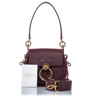 Chloe Medium Tess Satchel Bag