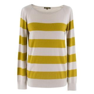 Loro Piana Long Sleeved Cashmere Striped Jumper
