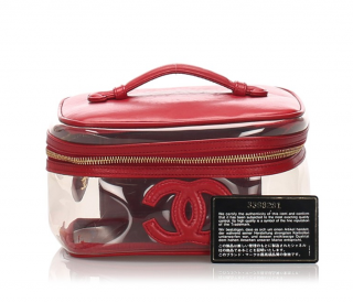 Chanel Vinyl CC Vanity Bag