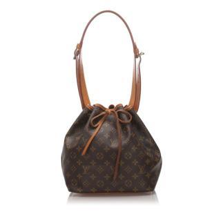 Louis Vuitton Monogram Petit Noe Shoulder Bag