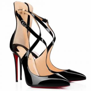 Christian Louboutin Marlenarock 100 pumps in patent leather