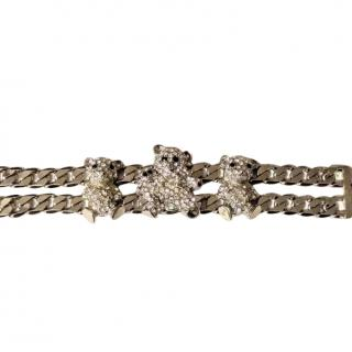 Bespoke Crystal Teddy Chain Bracelet