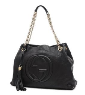 Gucci Soho Interlocking G Chain Tote Bag