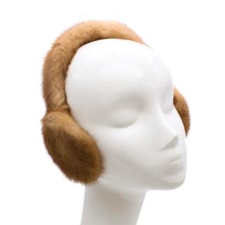 Bespoke Fox Fur Earmuffs
