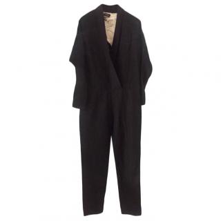 Isabel Marant Linen Wrap Style Jumpsuit