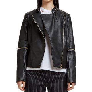 Stella McCartney Victoire Skin Free Skin Biker Jacket