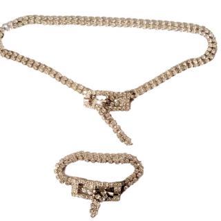 Bespoke Crystal Choker & Bracelet