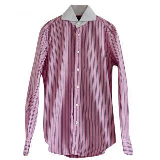 Ralph Lauren Black Label Pink Striped Shirt