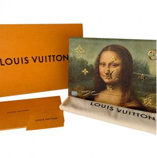 Louis Vuitton x Jeff Koons Mona Lisa Folio IPad Case