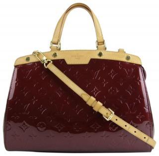 Louis Vuitton Brea patent leather tote