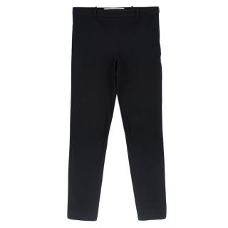 Roland Mouret Black Stretch-Cotton Skinny Pant