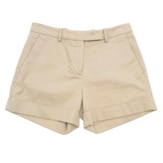 Loro Piana Linen Beige Shorts