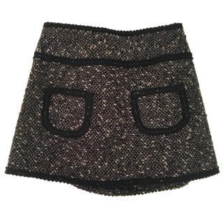 Nanette Lapore Wool Mini Skirt