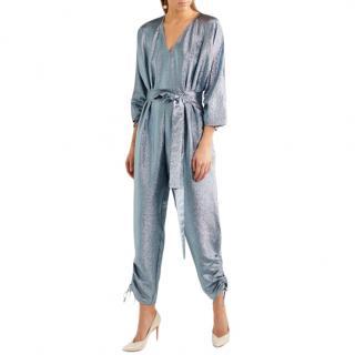 Stella McCartney silver lame jumpsuit