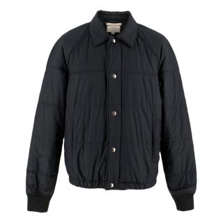 Club Monaco Black Quilted Jacket