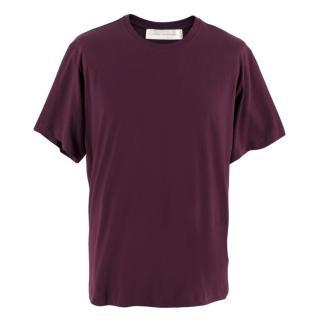 Victoria Victoria Beckham Purple Oversize T-shirt
