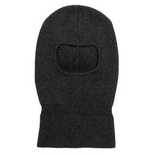 Filippa K Grey Wool Roll-up Balaclava