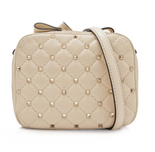 Valentino Leather Rockstud Spike Crossbody Bag