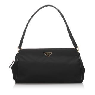 Prada Nylon Baguette Bag