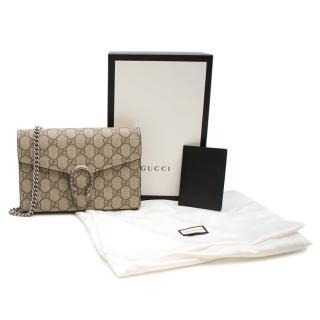Gucci Dionysus GG Supreme Chain Wallet
